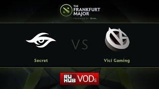 Secret vs VG, game 1