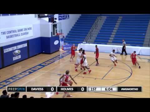 Covington Holmes vs. Daviess County -perry with a drive in the lane