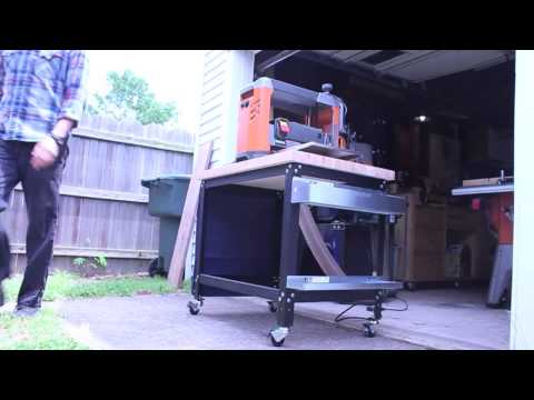 Rockler Customizable Shop Stand: Mobile Workstation