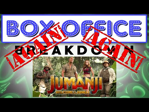 Jumanji Gains Another Life! - Box Office Breakdown for January 21st, 2018