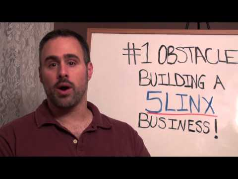 Home Business Ideas| 5Linx and How To Overcome The Major Problem Building a 5Linx Business