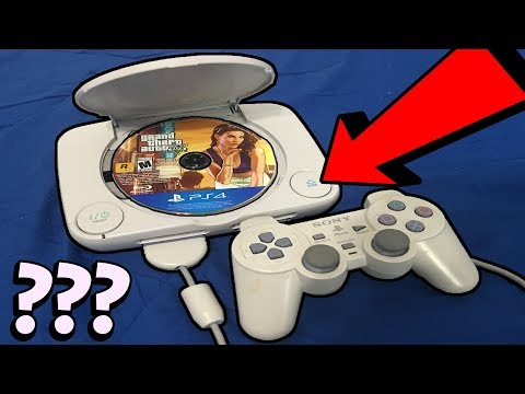 What happens when you put a foreign disc in a PS1?