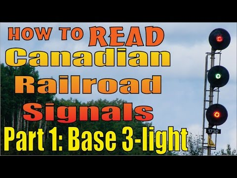railroad - For my fellow foamers (railfans), I'm putting together this short video series on how to read North American Railroad signals. In this part 1 I cover the fou...