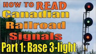 Video Railroad Signals, reading and meanings, part 1: The basic three light system MP3, 3GP, MP4, WEBM, AVI, FLV Oktober 2018