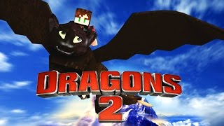 Minecraft   HOW TO TRAIN YOUR DRAGON 2 CHALLENGE - Mother of Dragons! (DRAGONS)
