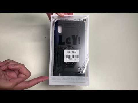 LeYi Samsung Galaxy A10 Case Unboxing