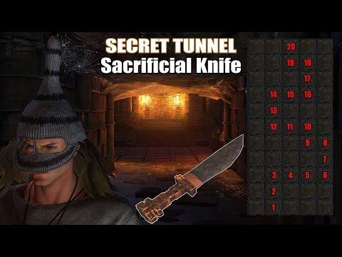 HITMAN 2 - Secret TUNNEL Challenge and Sacrificial Knife Guide Walkthrough