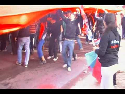 festejos BROWN DE ADROGUE AL NACIONAL B 2012/13 (video 3) - Los Pibes del Barrio - Brown de Adrogué