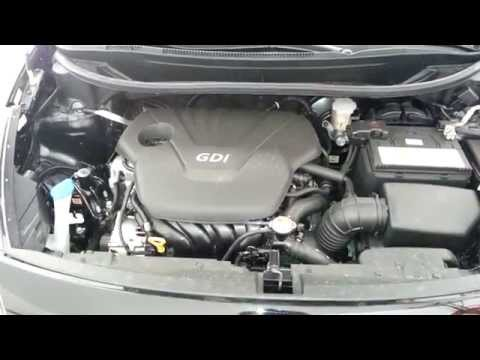 2014 Kia Rio Gamma 1.6L I4 GDI Engine Idling After Oil Change & Spark Plug Check