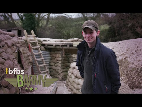 Meet the Men Who Dig WW1 TRENCHES in Fields | BARMY