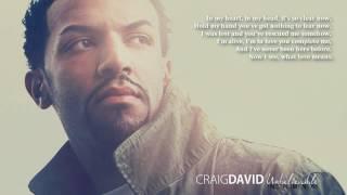 Craig David - Unbelievable (Instrumental with Lyrics)