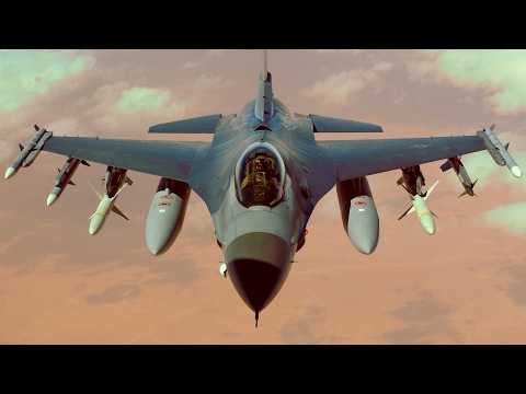 U.S. F16s & French Mirage aircraft conduct cooperative close air support training in Djibouti.