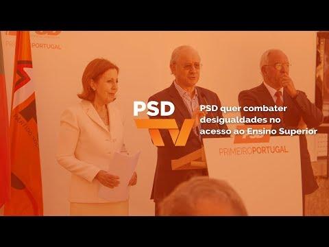 "Rui Rio: promover ""a igualdade de oportunidades"" no acesso ao Ensino Superior"