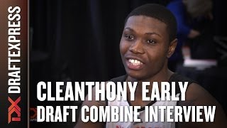 Cleanthony Early Draft Combine Interview