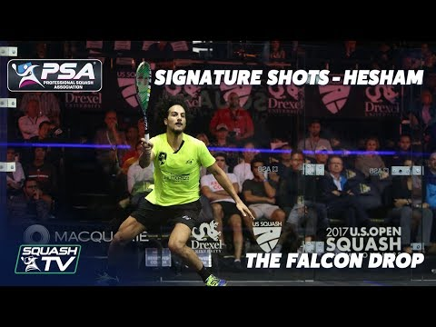 Squash: Signature Shots - Mazen Hesham - The Falcon Drop