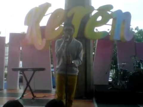 RAYEN PONO - KAU ANGGAP MATI at @KERENTVRI (08-01-2013)
