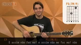 image of Só Pro Meu Prazer - Leoni (aula de violão)