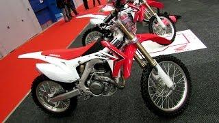 10. 2014 Honda CRF 450R Walkaround - 2014 Montreal Motorcycle Show