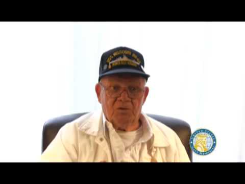 USNM Interview of Robert Watts Part Three on the Missouri and the friendly fire incident