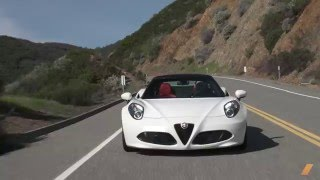 Alfa Romeo 4C Spider -- TEST/DRIVE by DRIVE