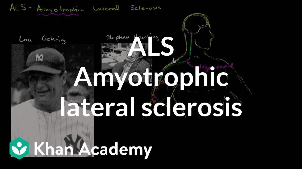 Video: What is Amyotrophic lateral sclerosis (ALS)?