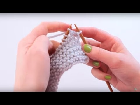 Knitting 101: How To Knit Neat Edges (видео)