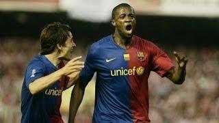 Touré Yaya's goals for FC Barcelona