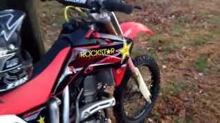 10. 2007 Crf150r walk around/ Start-up