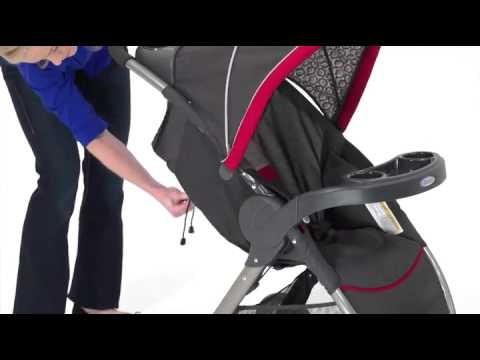 Graco Fastaction Fold Stroller Click Connect Travel System
