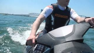 3. 2013 Sea Doo GTX Limited 260 - First time on the water - eco mode