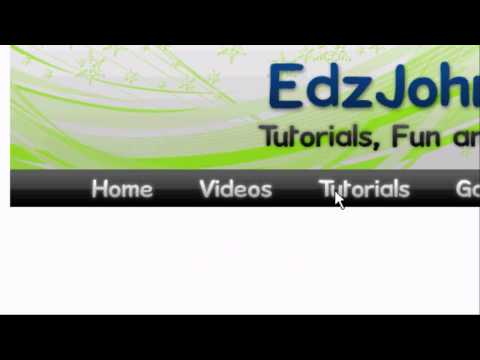 EdzJohnson - This is a dreamweaver and photoshop website design and development tutorial. I will teach you how to hot link and map images in dreamweaver. How to design a ...