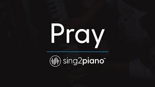 Video Pray [Piano Karaoke Instrumental] Sam Smith MP3, 3GP, MP4, WEBM, AVI, FLV Februari 2018