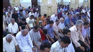 خطبة وصلاة الجمعة من المسجد الجديد في طولكرم