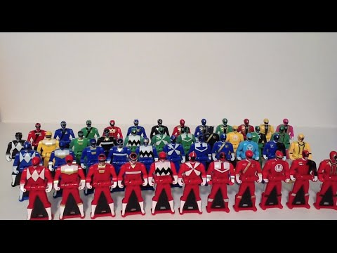 Power Rangers Super Megaforce - Ranger Key Packs Wave 1-3 Review