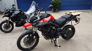 9. Heed Crash Bars on Triumph Tiger Review