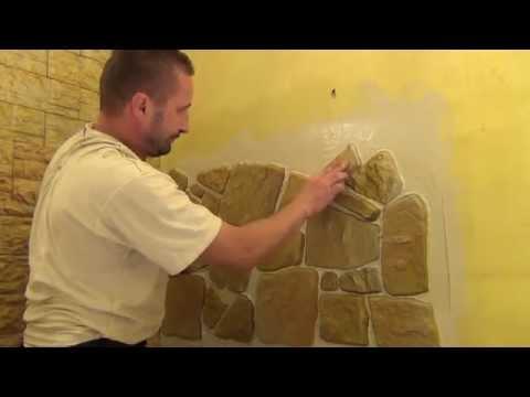 Jak układać kamienie dekoracyjne gipsowe firmy Petraart naturalny