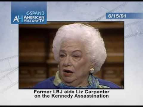 Liz Carpenter On Jfk Assassination (1991 C-span Interview)