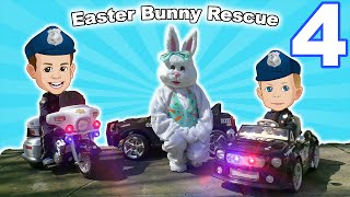 Power Wheels Police 4 - Easter Bunny Rescue!
