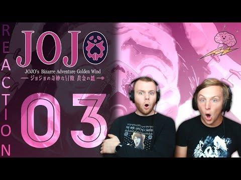SOS Bros React - JoJo's Bizarre Adventure Part 5 Episode 3 - Test for a Gang-Star!