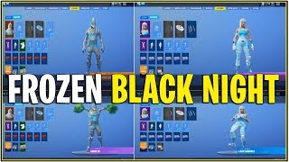 *NEW* LEAKED FROZEN BLACK KNIGHT & RENEGADE RAIDER..! *In Game* (De-Bunked Real or Fake?)