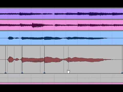 Using Elastic Audio to Double a vocal copy