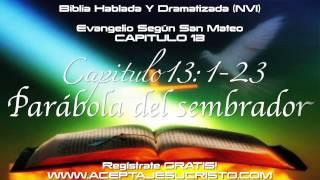 SAN MATEO - Capitulo 13 (BIBLIA HABLADA Y DRAMATIZADA) NVI
