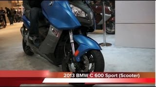 3. 2013 BMW C600 SPORT C650 GT Scooter - Review NYC EXPO