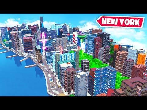 NEW YORK in FORTNITE! ft. Lazarbeam, Rifty & AlexAce