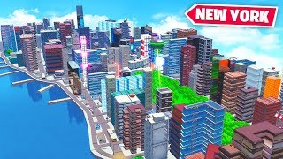NEW YORK in FORTNITE! ft. Lazarbeam, Rifty & AlexAce