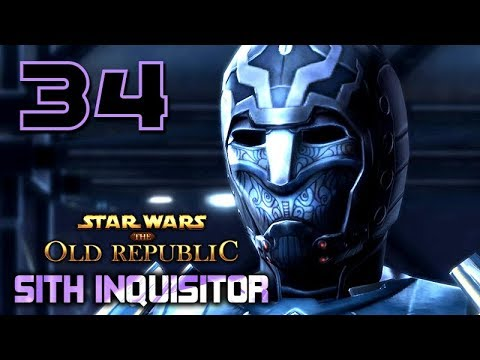 SWTOR: Sith Inquisitor – Movie Series / All Cutscenes ★ Episode 34: Preparing The Way 【Onslaught】