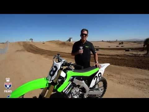Kawasaki 2014 KX450F and KX250F Intro