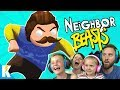 Download Lagu Hello Neighbor in Gang Beasts! (Family Battle Part 3) KIDCITY GAMING Mp3 Free