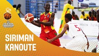 Siriman Kanoute had an amazing performance against Mauritius at the FIBA U16 African Championship, racking up 50pts!