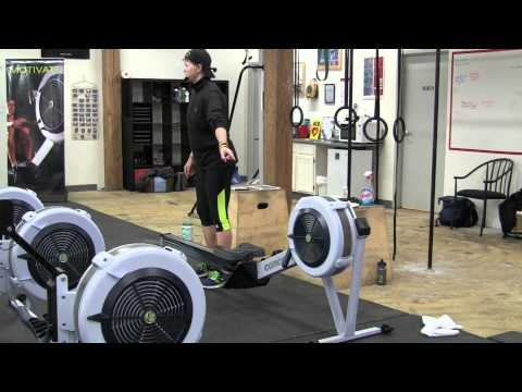 Best Concept2 rowing machine damper setting